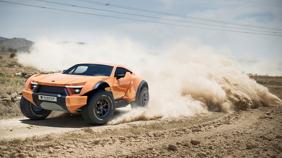 Lediglich 35 Stück baut Zarooq vom Sand Racer 500GT