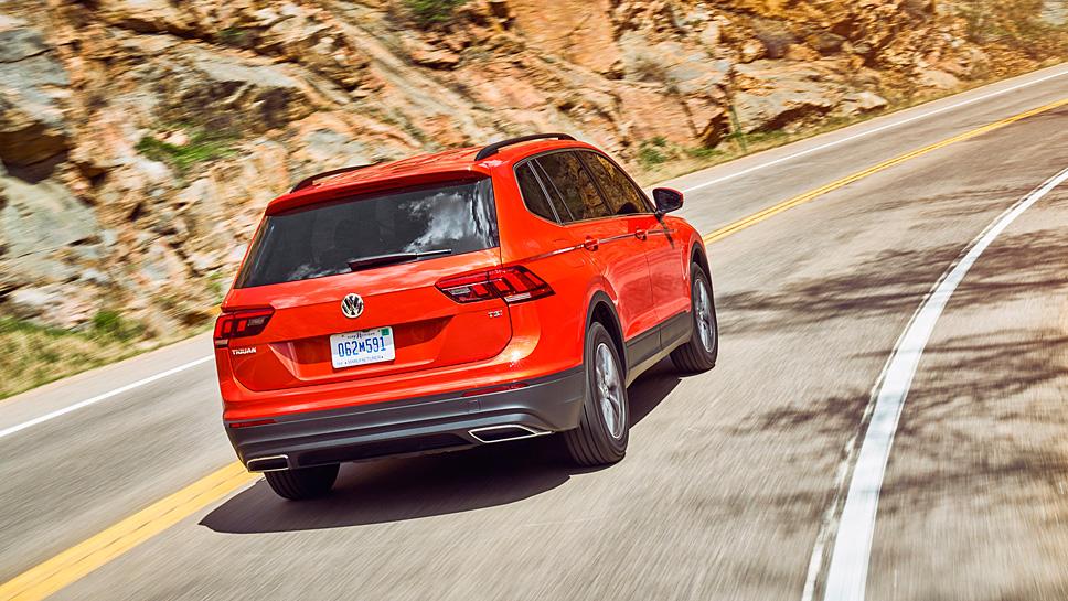 Der VW Tiguan wächst um knapp 22 Zentimeter zum Allspace