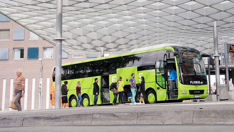 Flixbus organisiert die Fahrten - stellt aber keine Busse