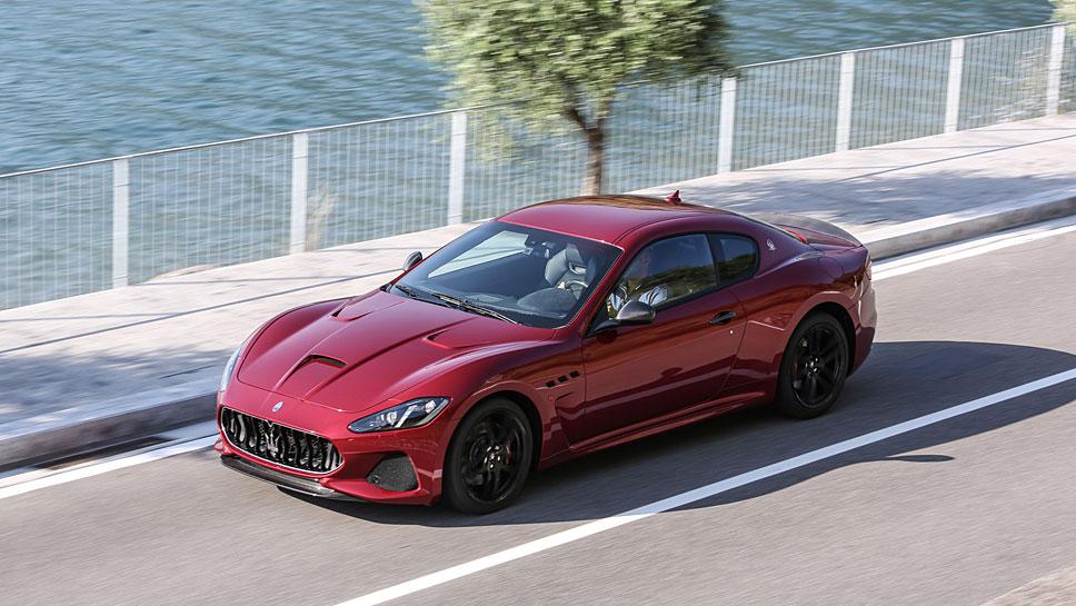 Der Maserati Gran Turismo wurde überarbeitet.