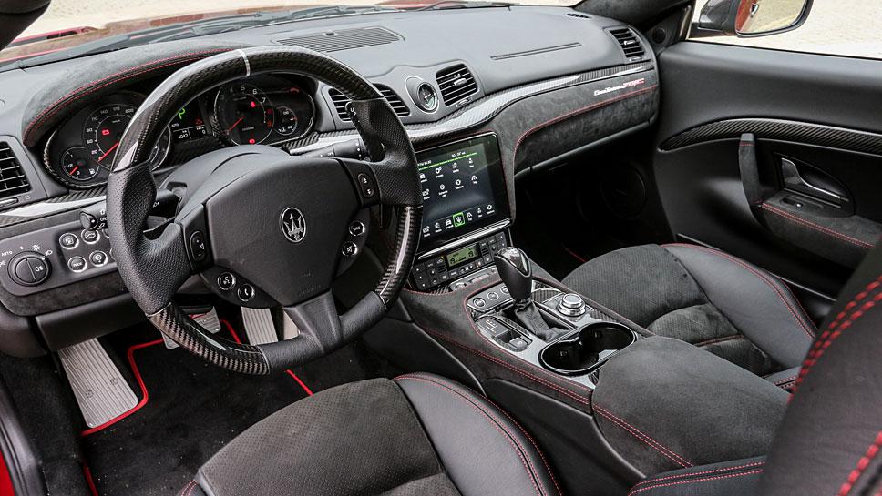 Maserati hat das Gran Cabrio aufgefrischt