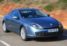 Den Renault Laguna gibt es auch als Coupe