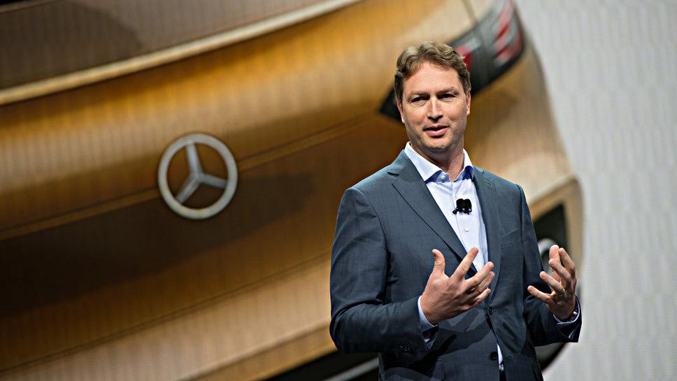 Daimler-Entwicklungschef Ola Källenius.