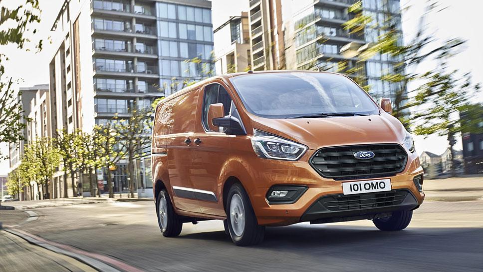 Ford hat den Transit Custom umfangreich bearbeitet