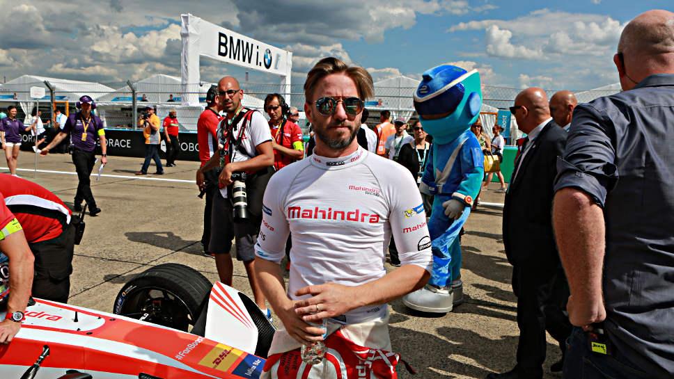 Nick Heidfeld beim Rennen in Berlin