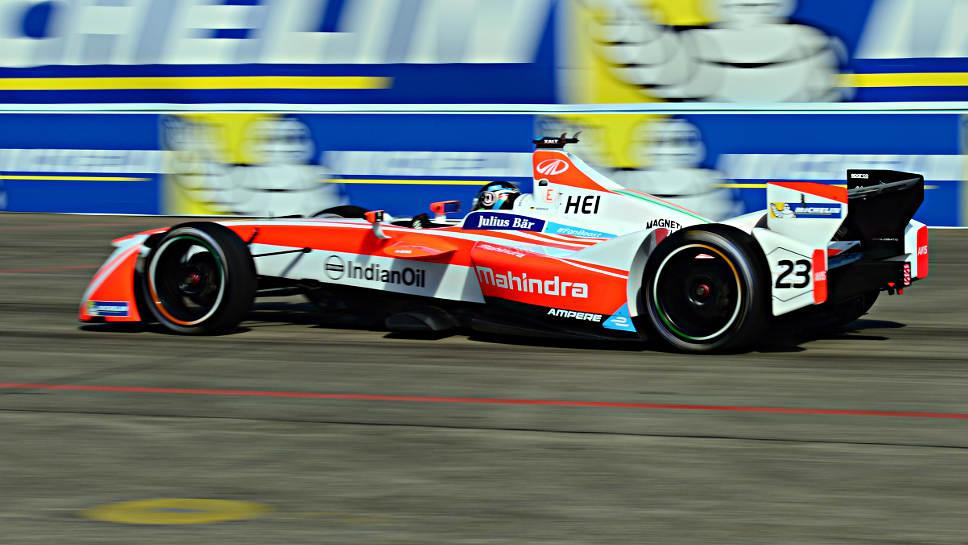 Formel E-Pilot Nick Heidfeld.
