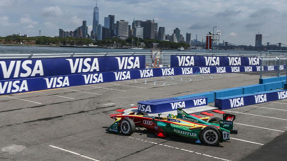Lucas di Grassi fuhr in New York auf den vierten Platz