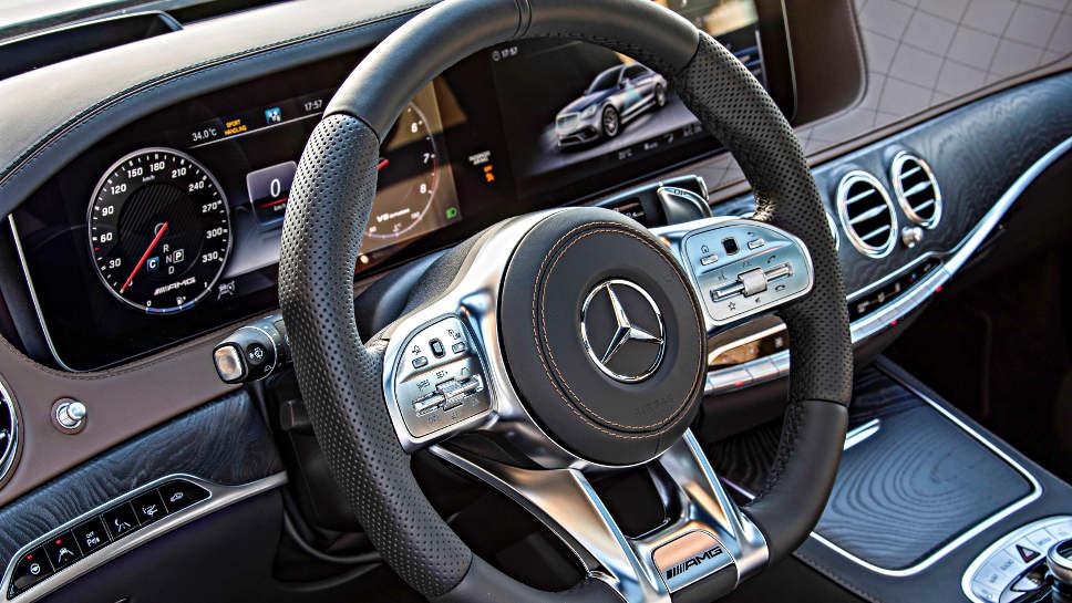 Mercedes S-Klasse: Doppelter Espresso inklusive ...