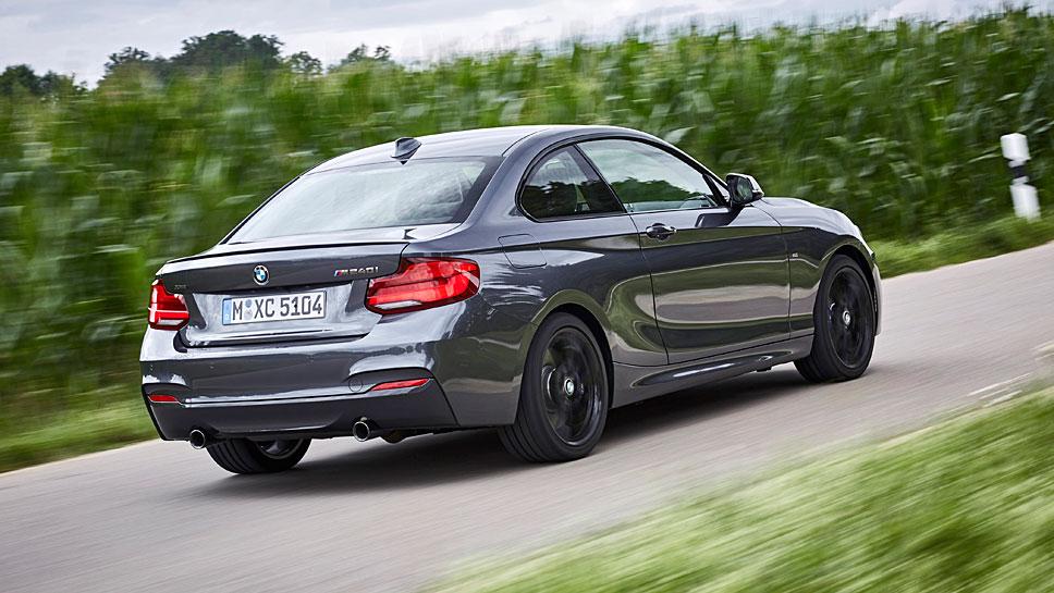 Das BMW M240i xDrive Coupé verspricht eine Menge Fahrspaß