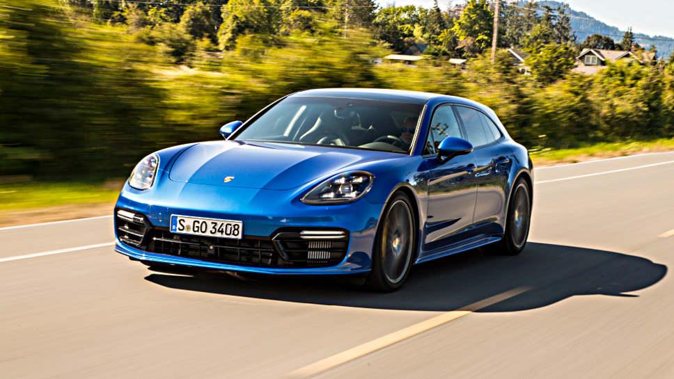 Der Porsche Panamera gibt es nun auch als Kombi.