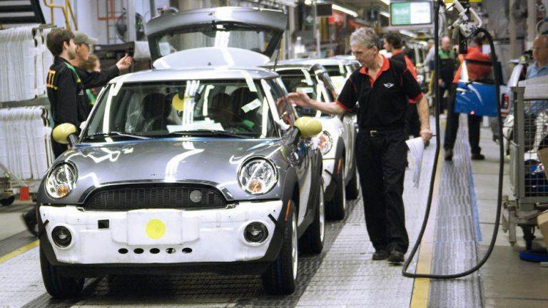 BMW baut Elektro-Mini trotz Brexit in Oxford