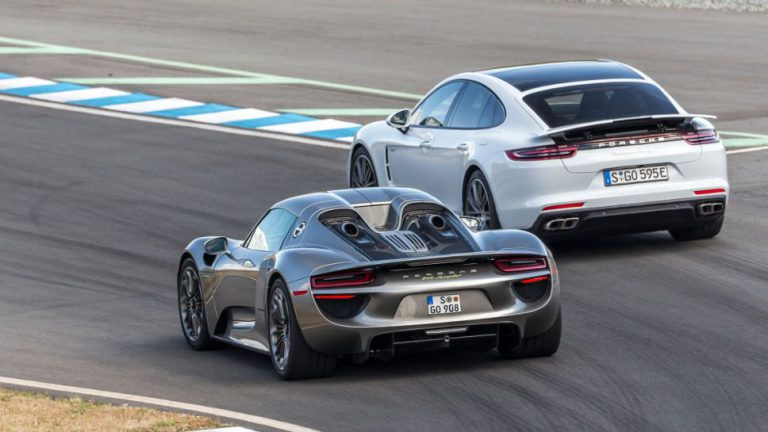 Porsche Panamera Turbo S E-Hybrid: Der Familien-Spyder