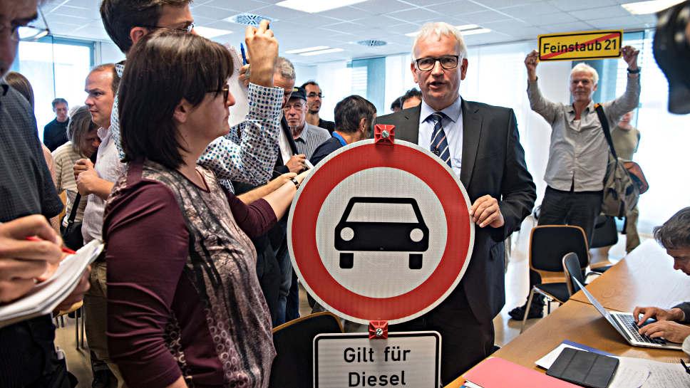 Jürgen Resch nach der Urteilsverkündung.
