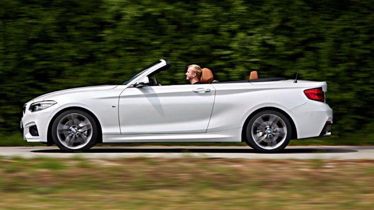 BMW 2er Cabrio: Ein wenig mehr Glamour