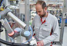 Audi forciert die Kooperation zwischen Mitarbeiter und Roboter