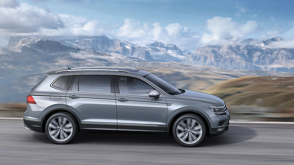 Der VW Tiguan ist besonders in China beliebt