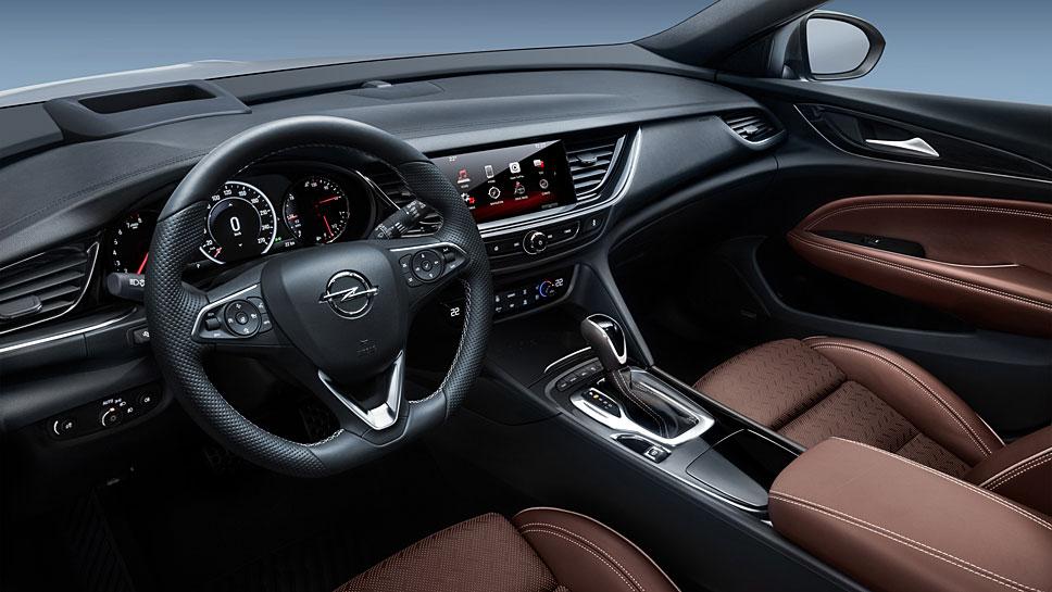 Der Opel Insignia Grand Sport ist sehr elegant ausgefallen
