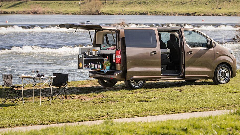 Toyota macht den Proace fit fürs Campen