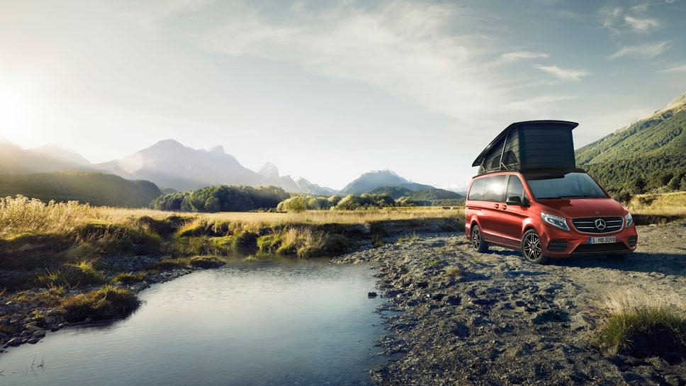 Mercedes verwandelt die V-Klasse zum Wohnmobil