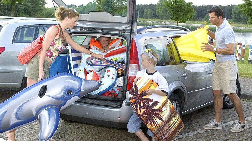 Nach den Ferien sollte das Auto entrümpelt werden.