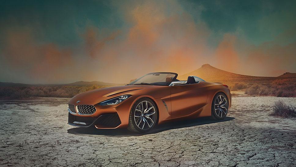 BMW gibt einen ersten Ausblick auf den neuen Z4