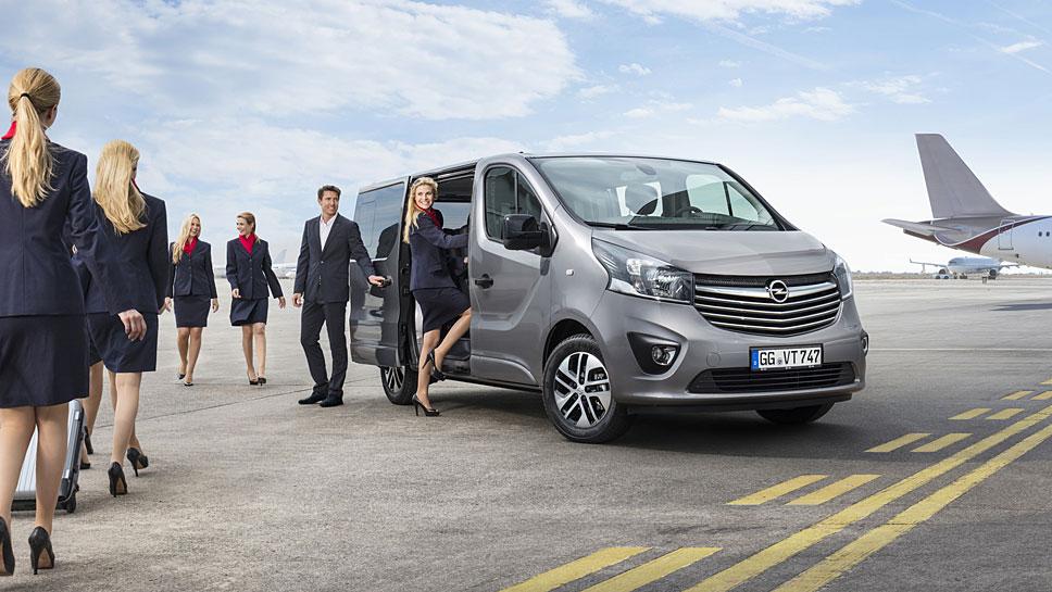 Opel veredelt den Vivaro Tourer