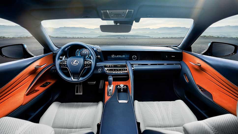 Den Lexus LC wird man nicht oft auf den Straßen sehen
