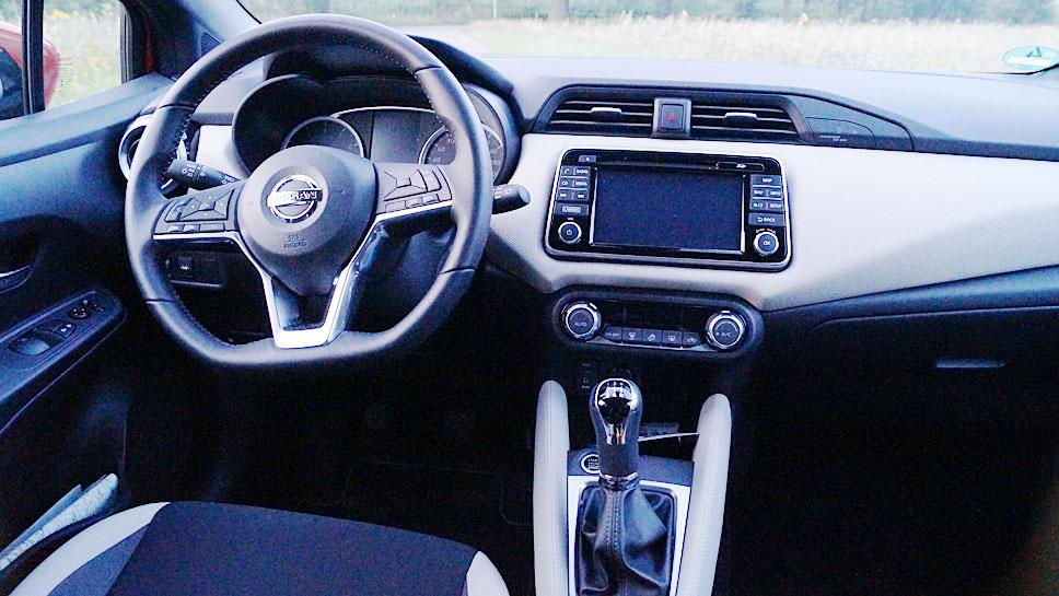 Nissan hat den Micra in einen souveränen Kleinwagen gewandelt