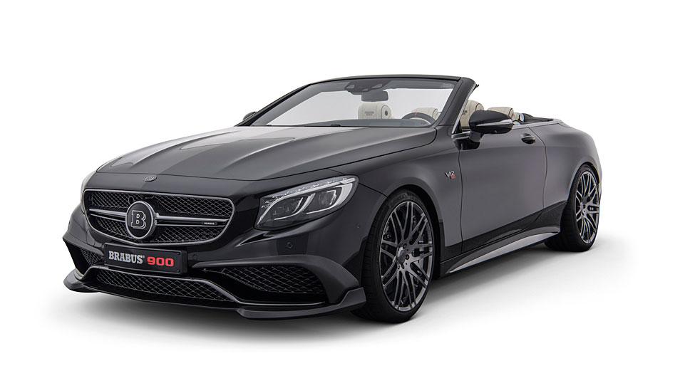Aus dem Mercedes AMG S 65 wird das Brabus Rocket 900 Cabrio