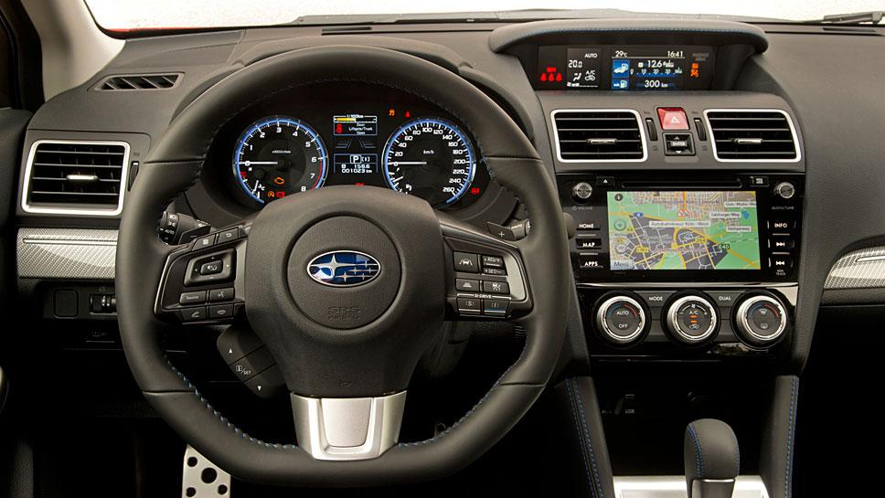Der Subaru Levorg fällt mit Lufthutze und Allradantrieb aus dem Kombi-Rahmen