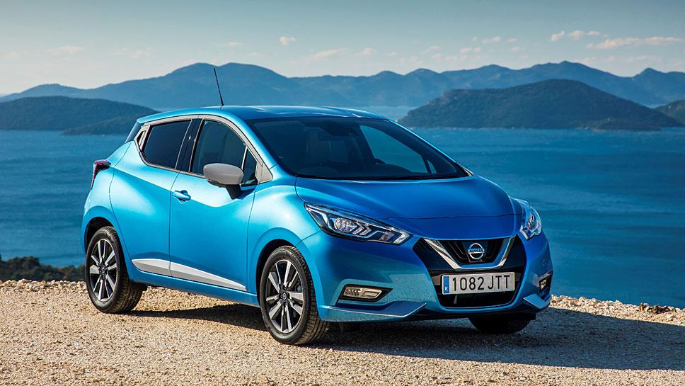 Der Nissan Micra erhält eine neue Basis