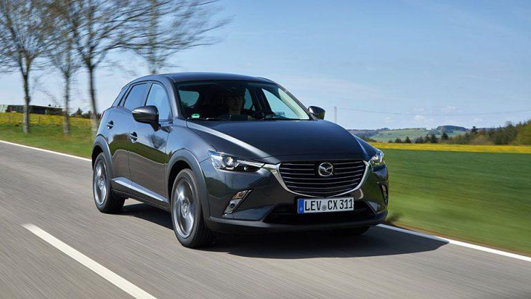 Mazda CX-3: Schmerzarmer Klassenwechsel