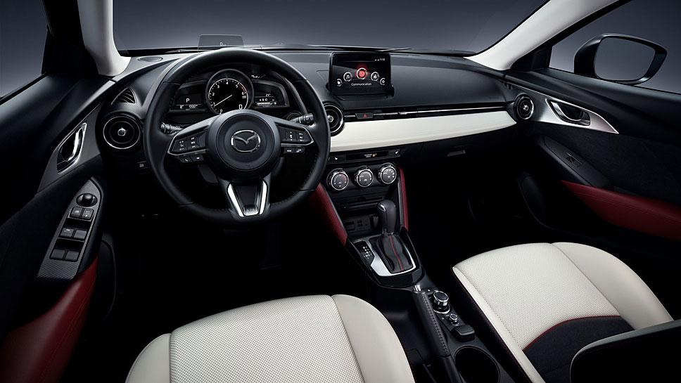 Der Mazda CX-3 basiert auf dem Mazda2