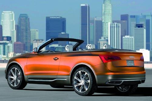 Audi zeigt Studie «Cross Cabriolet Quattro»